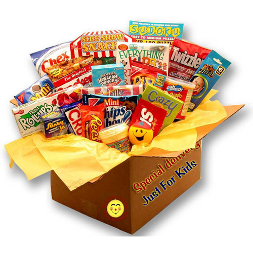 Buy gift baskets for kids - Kids Blast Deluxe Activity Care Package, Elegant Gift Baskets Online